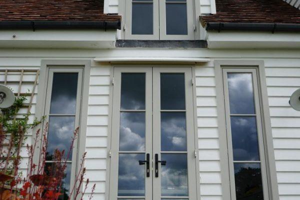 patio timber doors