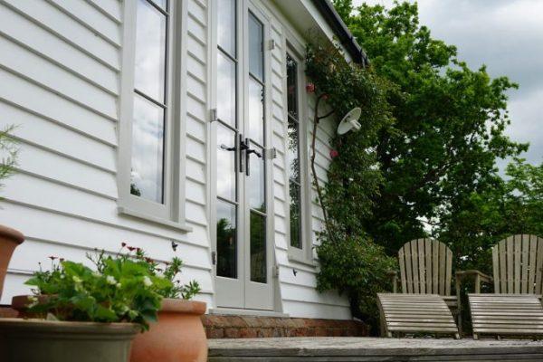 garden timber doors