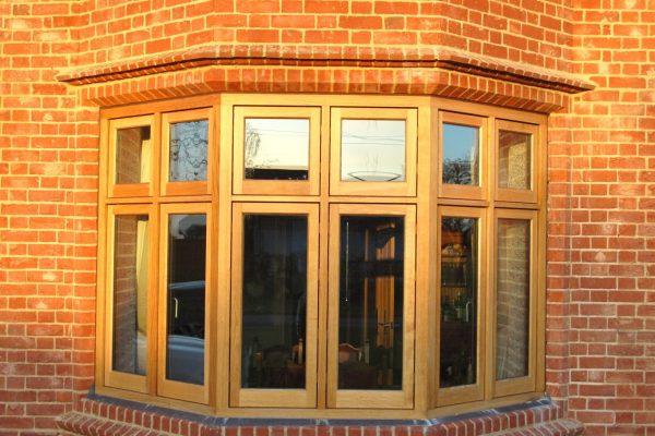 Bespoke timber window and door installation