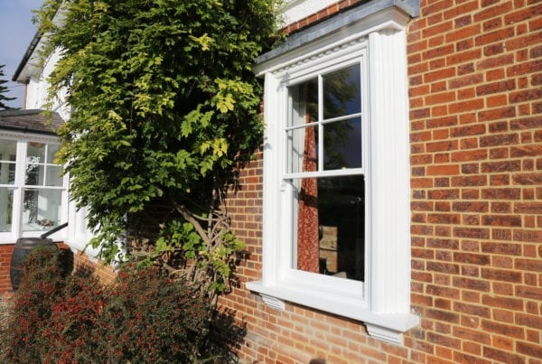 fensa certified wooden sash windows